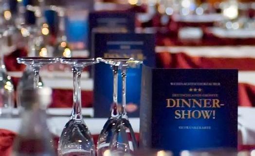 Weihnachtsfeier-Zauber Hamburg Dinner Shows